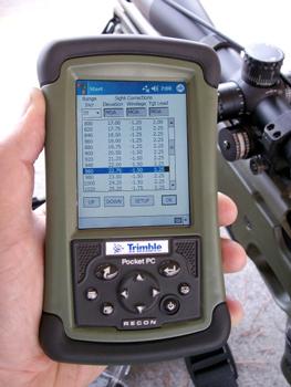 Nightforce Ballistic Targeting Software - Mountain Shooting